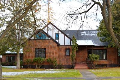 Missoula Single Family Home Under Contract Taking Back-Up : 1232 Gerald Avenue