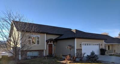 Kalispell Single Family Home Under Contract Taking Back-Up : 122 Sinopah Street