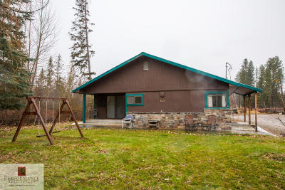 Columbia Falls, Hungry Horse, Martin City, Coram Single Family Home Under Contract Taking Back-Up : 1955 Montana Hwy 206