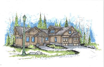 Whitefish Single Family Home Under Contract Taking Back-Up : 634 Nature Trail