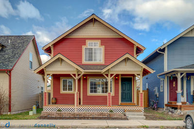 Missoula Single Family Home Under Contract Taking Back-Up : 5067 Cache Court