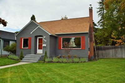 Missoula Single Family Home For Sale: 546 Woodworth Avenue