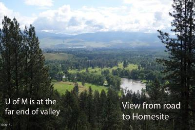 Missoula County Residential Lots & Land For Sale: 10698 Upland Trail