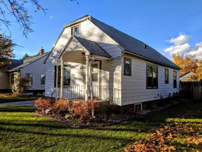Missoula MT Single Family Home Under Contract Taking Back-Up : $317,500