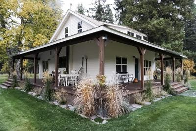 Flathead County Single Family Home For Sale: 1455 Mt-209