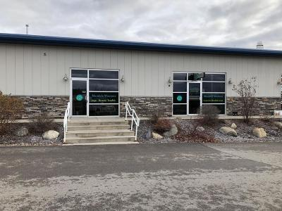 Kalispell Commercial Under Contract Taking Back-Up : 203 Business Center Loop