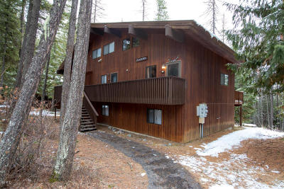 Whitefish, Olney Single Family Home For Sale: Ptarmigan Unit