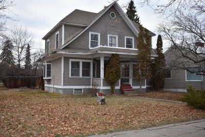 Kalispell Single Family Home Under Contract Taking Back-Up : 844 Third Avenue West