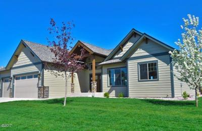 Flathead County Single Family Home For Sale: 131 Werner Peak Trail