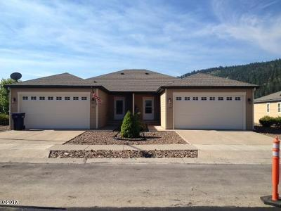 Kalispell MT Single Family Home Under Contract with Bump Claus: $192,500