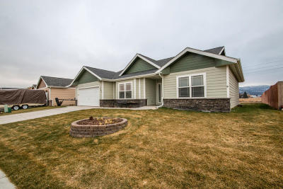 Kalispell Single Family Home For Sale: 365 Battle Ridge Drive