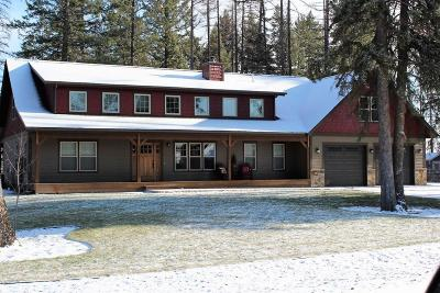 Flathead County Single Family Home For Sale: 511 Sweetgrass Ranch Road