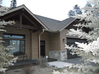 Flathead County Single Family Home Under Contract Taking Back-Up : 2 Swift Creek Lane