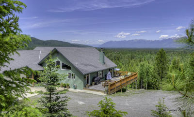Bigfork MT Single Family Home For Sale: $698,000