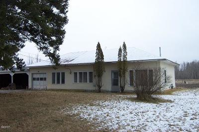 Flathead County Single Family Home For Sale: 1470 North Fork Road