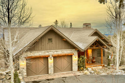Flathead County Single Family Home For Sale: 1161 Whispering Rock Road