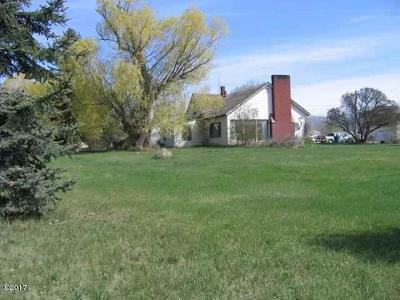 Missoula Single Family Home For Sale: 6250 Mullan Road