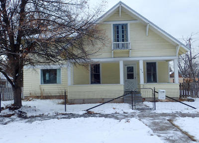 Missoula Single Family Home For Sale: 619 Cleveland Street