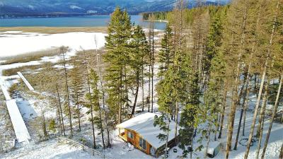 Flathead County Single Family Home For Sale: 4877 Ashley Lake Road