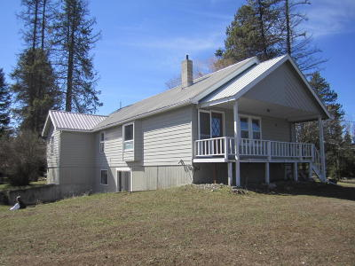 Bigfork Single Family Home Under Contract Taking Back-Up : 11478 Highway 83