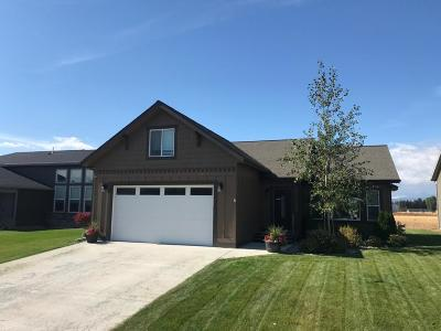 Kalispell Single Family Home Under Contract Taking Back-Up : 160 Weimar Way