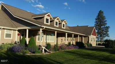 Flathead County Single Family Home For Sale: 120 Dirt Road