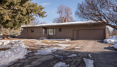 Flathead County Single Family Home Under Contract Taking Back-Up : 1517 South Woodland Drive
