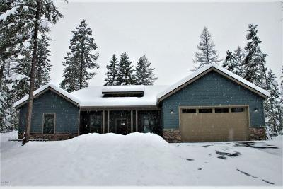 Bigfork Single Family Home Under Contract Taking Back-Up : 1010 Silvertip Drive North