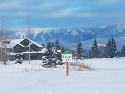 Whitefish Residential Lots & Land For Sale: 4088 Red Eagle Drive