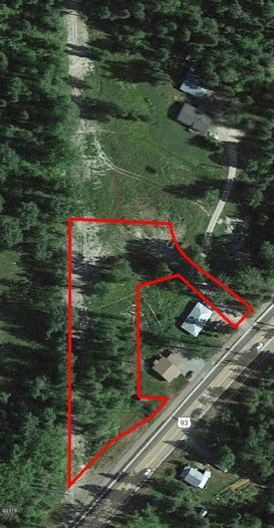 Whitefish Residential Lots & Land For Sale: 2042 Highway 93 West