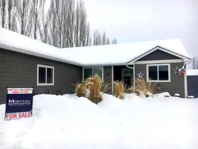 Missoula Single Family Home Under Contract Taking Back-Up : 1690 Shindig Drive