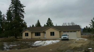Florence MT Single Family Home For Sale: $289,900
