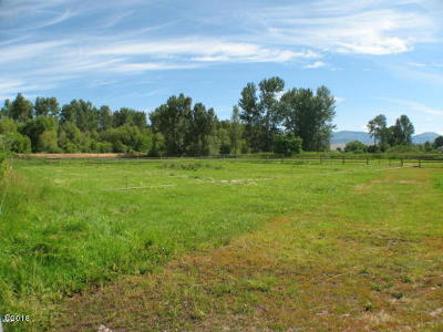 Missoula County Residential Lots & Land For Sale: Nhn Stone Street