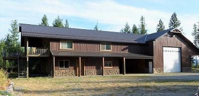 Lincoln County Single Family Home For Sale: 1962 Therriault Pass Road
