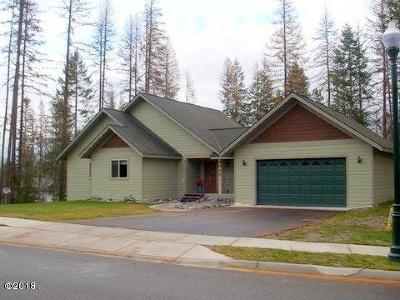 Whitefish Single Family Home Under Contract Taking Back-Up : 1025 Meadowlark Lane