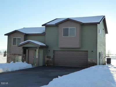 Kalispell Single Family Home Under Contract Taking Back-Up : 425 Spruce Meadows Loop