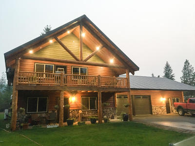 Trout Creek Single Family Home Under Contract Taking Back-Up : 3060 Highway 200