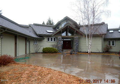 Flathead County Single Family Home Under Contract Taking Back-Up : 735 South Wakewood Drive
