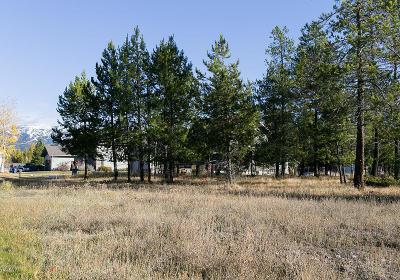 Whitefish Residential Lots & Land For Sale: 142 Stumptown Loop