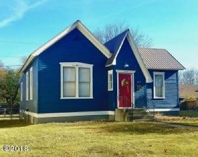 Kalispell Single Family Home For Sale: 419 4th Avenue East