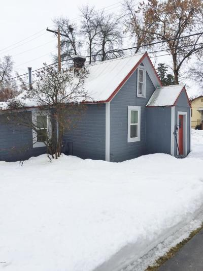 Whitefish Single Family Home For Sale: 347 Kalispell Avenue