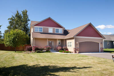 Florence MT Single Family Home Under Contract with Bump Claus: $337,500