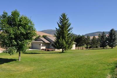 Missoula County Single Family Home For Sale: 10730 El Toro Lane