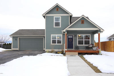 Missoula County Single Family Home For Sale: 4325 Potter Park Court