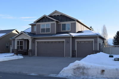 Kalispell Single Family Home For Sale: 659 Mountain View Drive