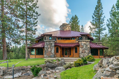 Stevensville Single Family Home For Sale: 303 South Kootenai Creek Road