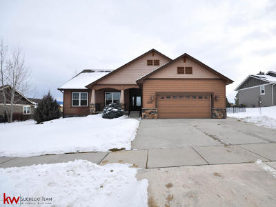 Missoula Single Family Home For Sale: 2616 Muirfield Court