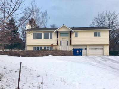 Missoula Single Family Home Under Contract with Bump Claus: 6050 South Meadowwood Lane