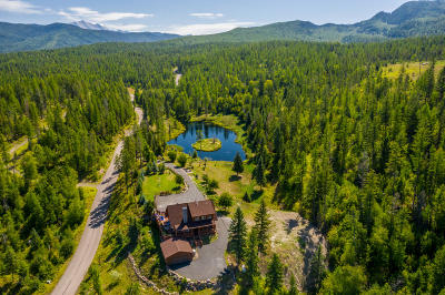 Flathead County Single Family Home For Sale: 1445 Glacier Hills