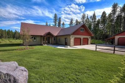 Bigfork MT Single Family Home For Sale: $619,000